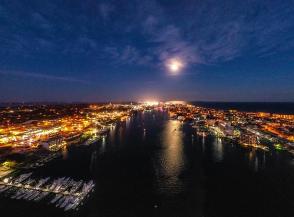 Harbor Moon by Destin30A Drone