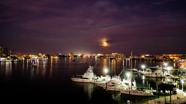 Harbor Night East by Destin30A Drone