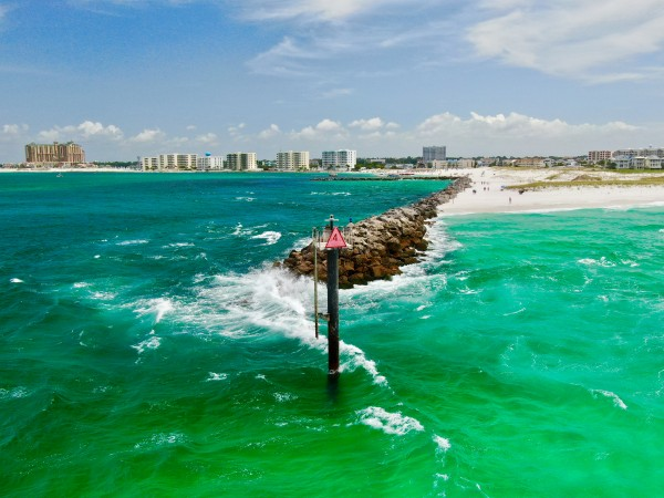 East Pass  by Destin30A Drone
