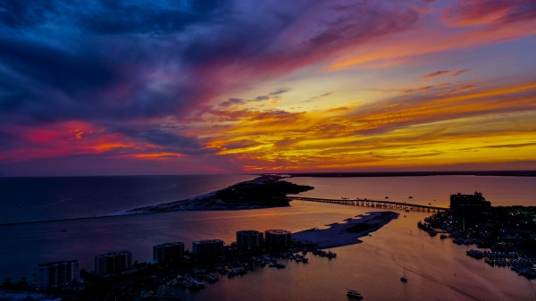 Harbor Colors by Destin30A Drone
