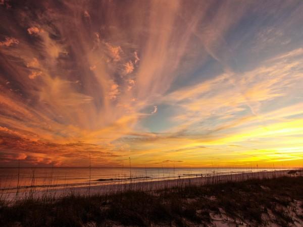 Starwar2 Sunset Beach by Destin30A Drone