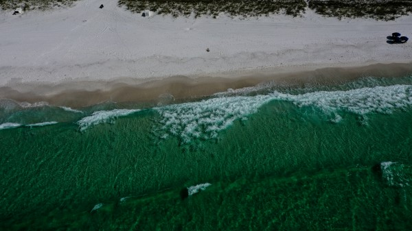 Holiday Isle Beach  by Destin30A Drone