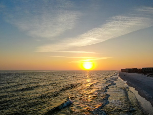 Sunset Surf Holiday Isle by Destin30A Drone