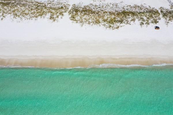 Kelly Beach by Destin30A Drone