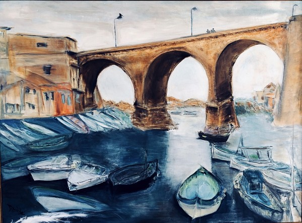 Marseille by  Claire Vines Artist