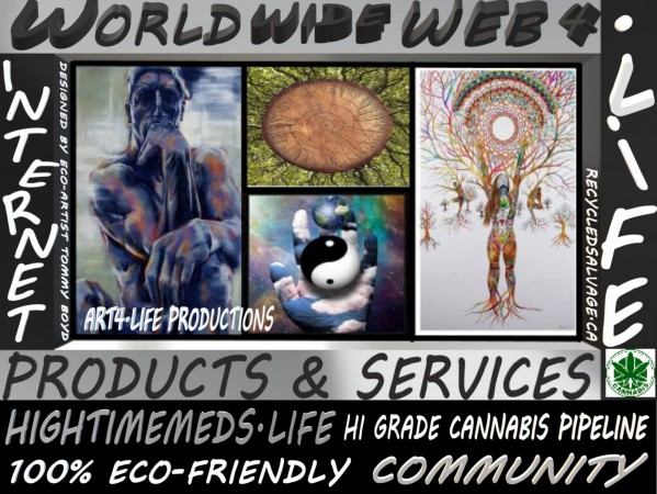 WORLDWIDEWEB4LIFE LARGE by KING THOMAS MIGUEL BOYD