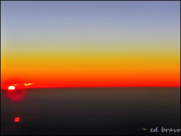 Sunset in the air by Eduardo Bravo