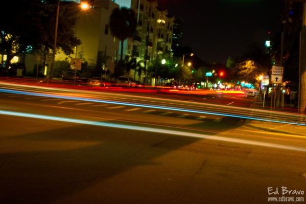 fast lights by Eduardo Bravo