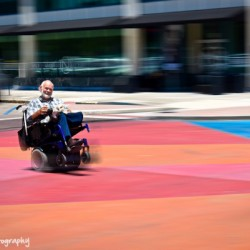 speed wheelchair by Eduardo Bravo