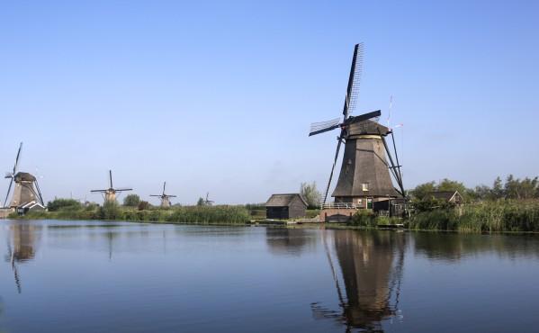 Windmills from Holland  by Edwin De Smet