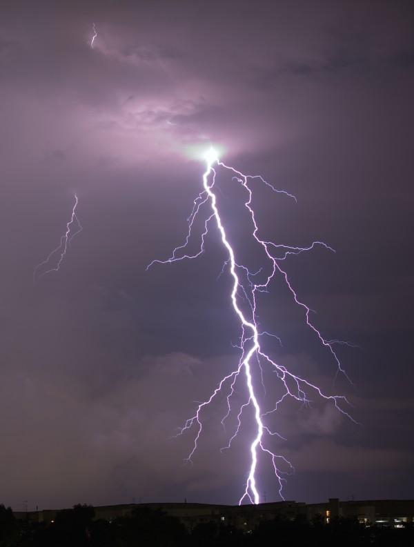 Lightning Strike by Edwin De Smet