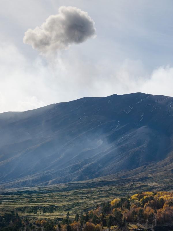 Mount Etna landscape Sicily Italy by Em Campos