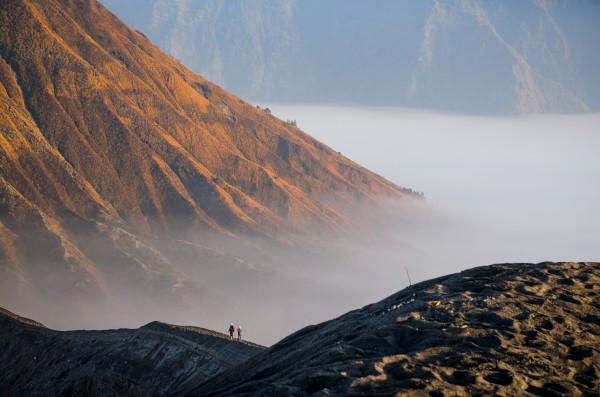 Gunung Bromo slopes Java Indonesia by Em Campos