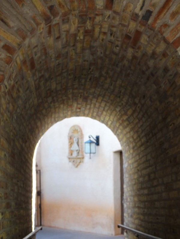 Arched Corridor by Emerson