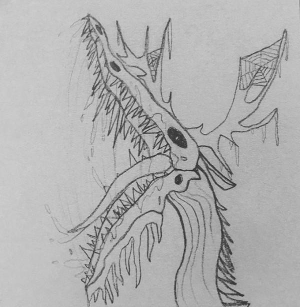 Wooden Creature by Emma Vannatten