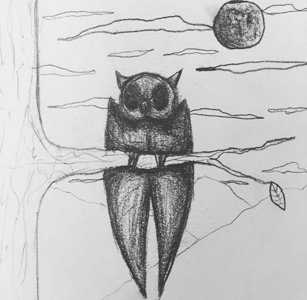 Owl of Night by Emma Vannatten