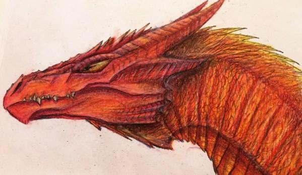 Fire Dragon by Emma Vannatten