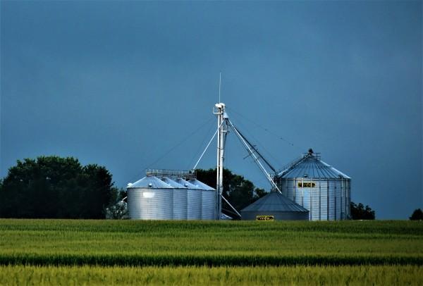 Rural Iowa Farm by Eric Schmitz