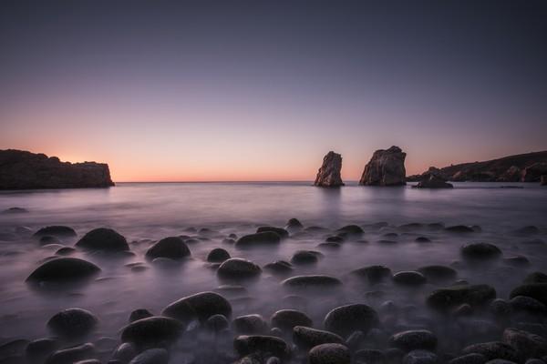 Carmel Sunset by Fabien Dormoy