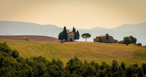 small church in tuscany  Print