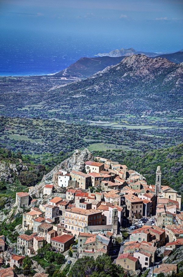 Corsica Town by Fabien Dormoy