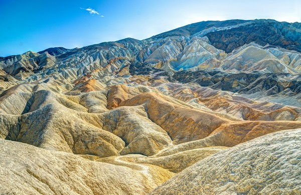Death Valley Waves  Print