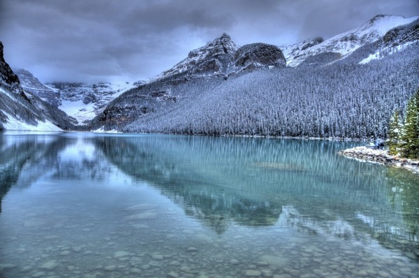 Lake Louise Winter  Print