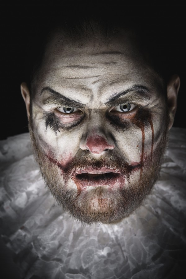 Scary Evil Clown by Faces Studio