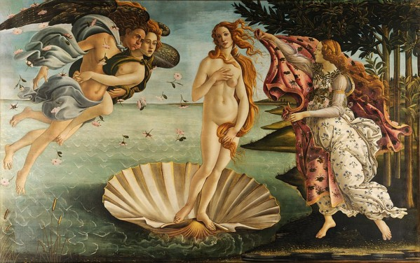 Sandro Botticelli: Birh of Venus HD-300ppi by Famous Paintings