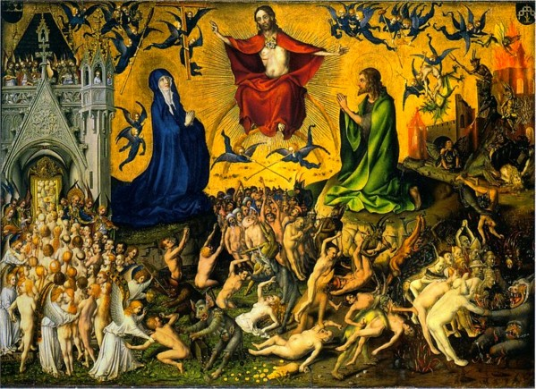 Stefan Lochner: Last Judgement HD 300ppi by Famous Paintings