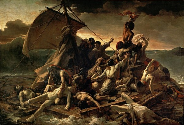 Théodore Géricault: The Raft of the Medusa HD 300ppi by Famous Paintings
