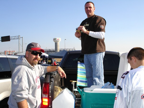 Tailgating At Gillette Stadium Foxborough Massachusetts by FoxHollowArt