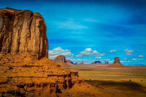 Landscape of Monument Valley USA by Francois Lariviere