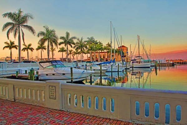 Twin Dolphin Marina by HH Photography of Florida