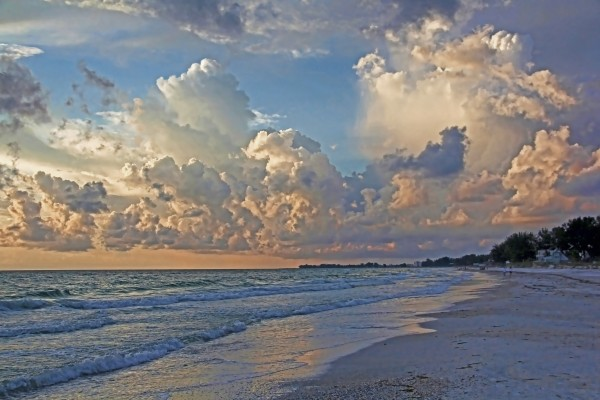 Beach Walk by HH Photography of Florida