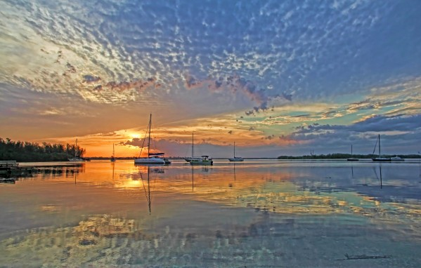 Big Sky Morning by HH Photography of Florida