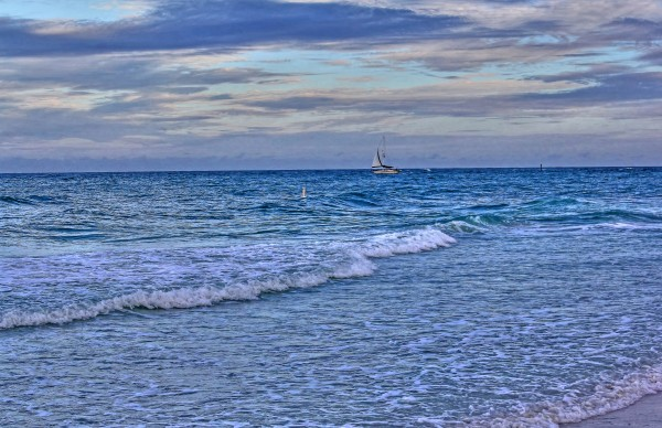 On The Deep Blue Sea by HH Photography of Florida