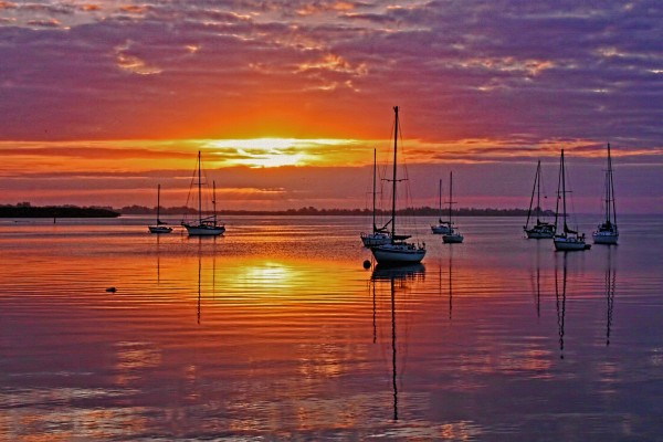 Begin Again-Florida Sunrise by HH Photography of Florida