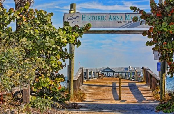 Anna Maria City Pier Landmark  by HH Photography of Florida