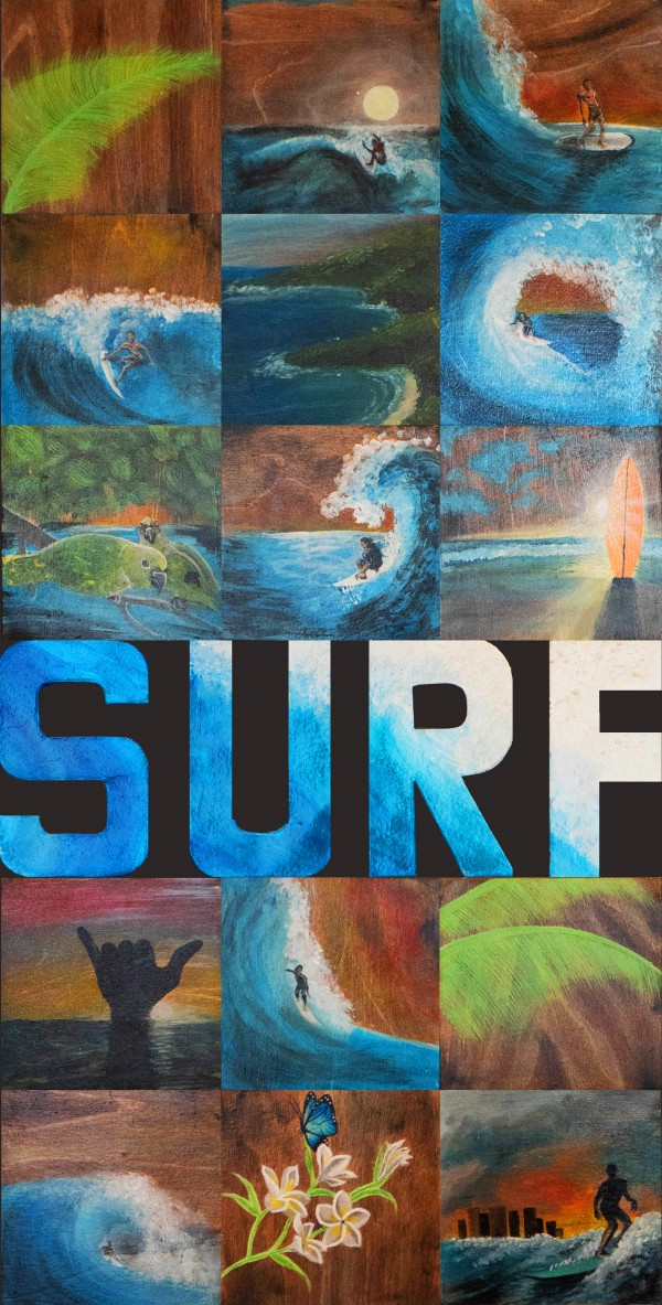 Collection WAVES-Surf is up by HUBLOT DESIGN
