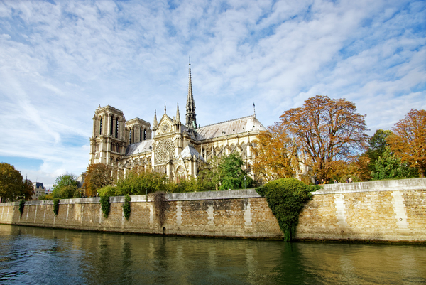 Notre-Dame cathedral by Hassan Bensliman