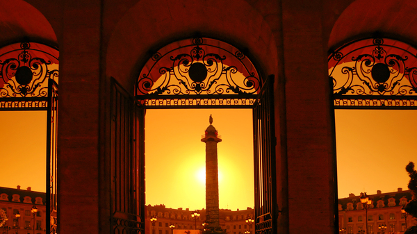 Vendome square sunrise by Hassan Bensliman