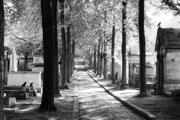 Pere-Lachaise keepers by Hassan Bensliman
