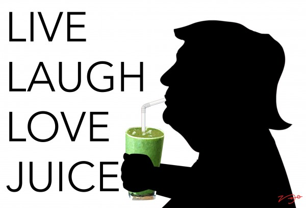 The Juicing Trump by Hilary Leehane
