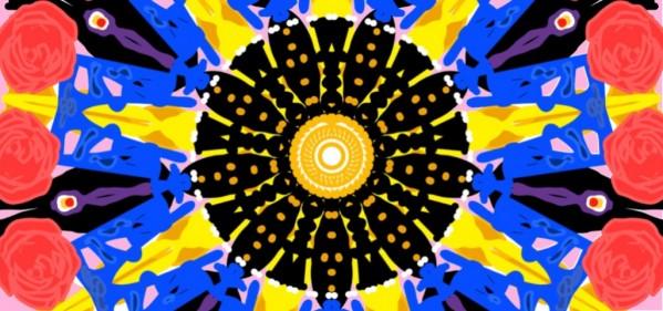 Meditating in Color by Ivana Santiago