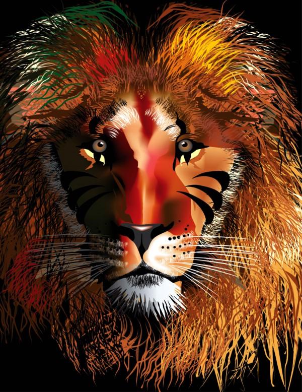 LION HEAD by JOHN HERNANDEZ