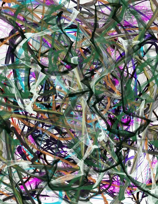 dancingonFire_GreenBlackBlue by JP ODonnell