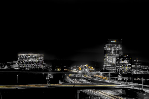 Hot lights on a Cold Night  by Elitephotos