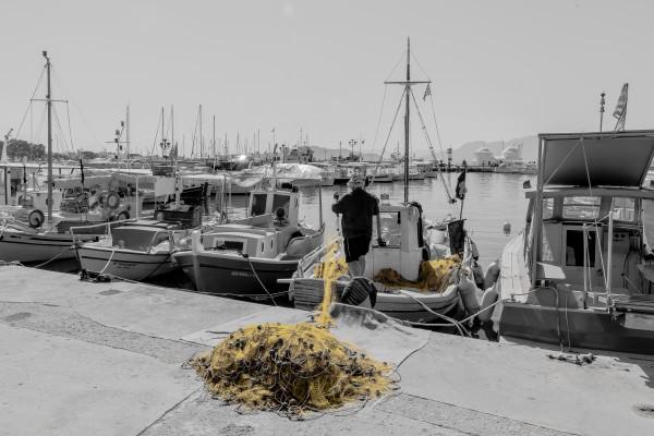 Fisherman net  by Elitephotos