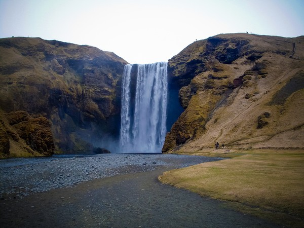 Iceland waterfall  Print